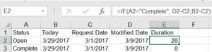 Excel Scratch Work